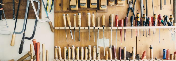 A tidy workshop