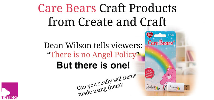 Care Bears craft products at Create and Craft