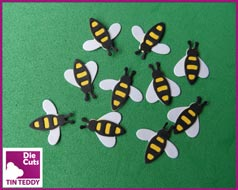 Link to Tin Teddy Small Bee Die Cuts