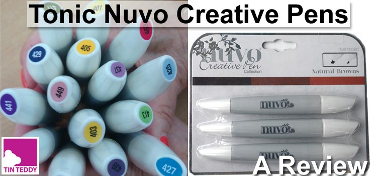 Review of Tonic Nuvo Creative Pens - Alcohol Markers