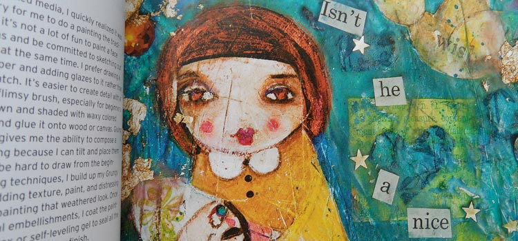 Mixed Media Girls with Suzi Blu - Interior 3