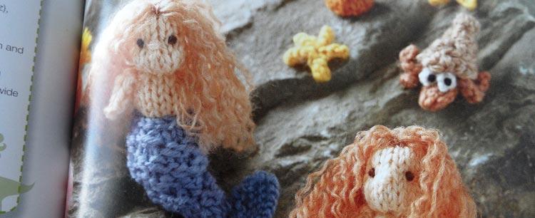Mini Knitted Ocean - mermaids