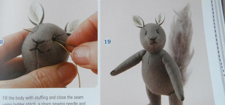 How To Sew Little Felt Animals 6