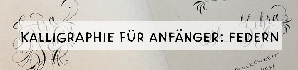 kalligraphie welche feder