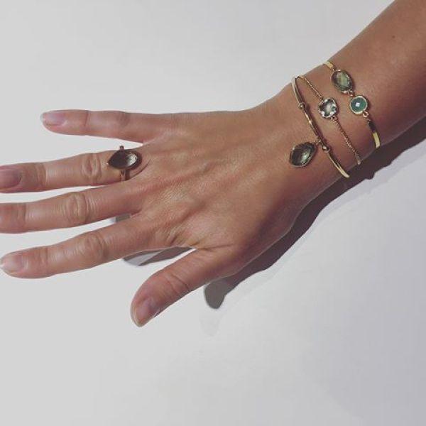 Här är setet med gröna stenar. På sista bilden ser ni alla ringarna i rosa, blå & grön #ilovejewelry #jewelry #fashionjewelry #sweden #gothenburg #new #goldrings #goldbracelet #pink #green #blue #tintino #tiontinofashion #eyecandy #jewelryinspo #inspo #instainspo