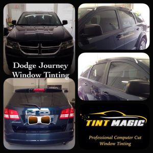 Dodge Journey window tinting at Tint Magic Coral Springs