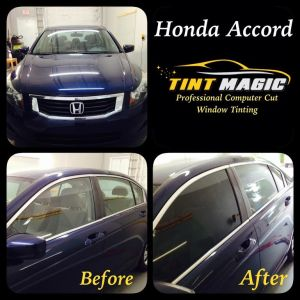 Honda Accord at Tint Magic Window Tint