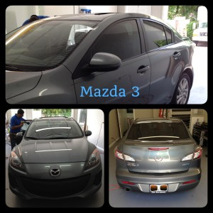 Mazda 3 Window Tint at Tint Magic Window Tint Coral Springs