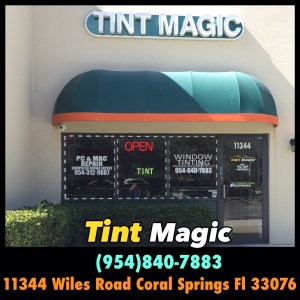 Tint Magic Window Tinting Coral Springs