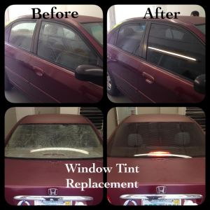 Honda Civic Tint Removal at Tint Magic Coral Springs