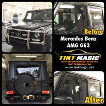 Mercedes Benz AMG G63 at Tint Magic Window Tinting Coral Springs