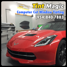 Chevrolet Corvette at Tint Magic Window Tinting Coral Springs