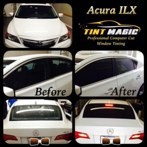 Acura ILX at Tint Magic Window Tint Coral Springs
