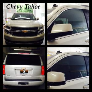 Chevy Tahoe at Tint Magic Window Tint Coral Springs