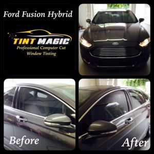 Ford Fusion at Tint Magic Window Tint Coral Springs