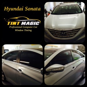 Hyundai Sonata at Tint Magic Coral Springs