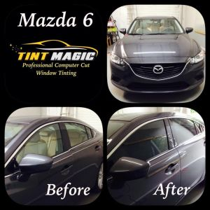 Mazda 6 Tint magic Window Tint Coral Springs