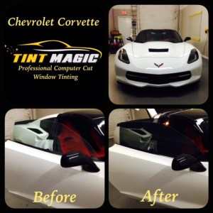 Chevrolet Corvette Window Tinting at Tint Magic Window Tint Tamarac, Coral Springs, Parkland, Coconut Creek, Sunrise, Margate and Weston