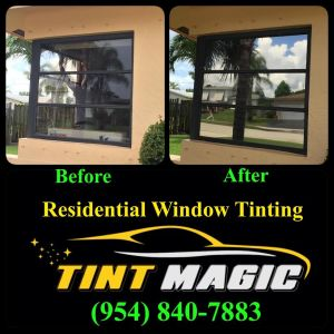 Tint Magic Residential Window Tinting
