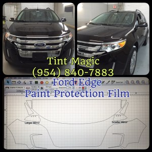 Ford Edge at Tint Magic Paint Protection Film