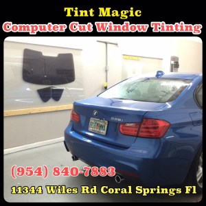 BMW at Tint Magic Computer Cut Window Tinting