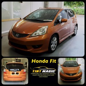 Honda Fit at Tint Magic Window Tinting Coral Springs