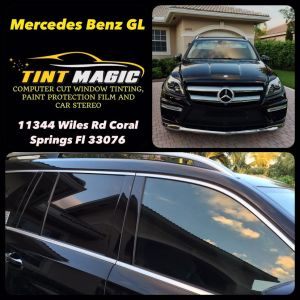 Mercedes Benz GL at Tint Magic Window Tinting