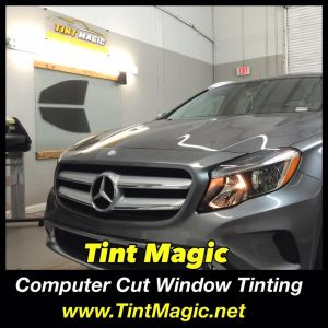 Mercedes Benz GLA250 at Tint Magic Window Tinting Coral Springs