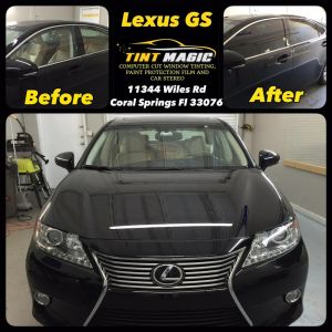Lexus GS at Tint Magic Window Tinting Coral Springs