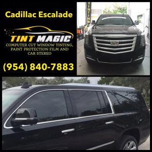 Cadillac Escalade at Tint Magic Window Tinting Coral Springs