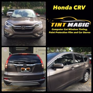 Honda CRV at Tint Magic Window Tinting