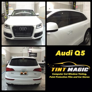 Audi Q5 at Tint Magic Window Tinting Coral Springs