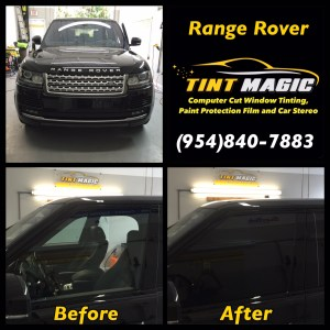 Range Rover Tint Magic Window Tinting