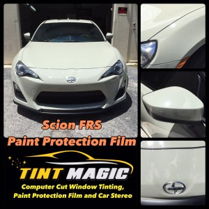 Scion FRS Paint Protection Film-Tint Magic Window Tint