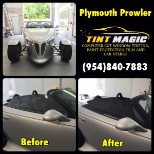 Plymouth Prowler at TintMagic Window Tinting