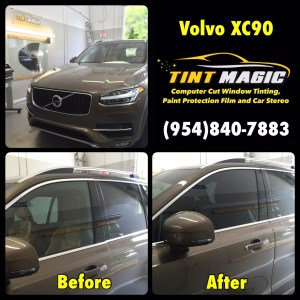Volvo XC90 at Tint Magic Window Tinting
