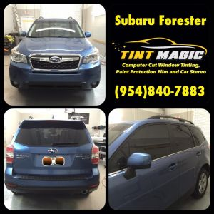 Subaru Forester-Tint Magic Window Tinting