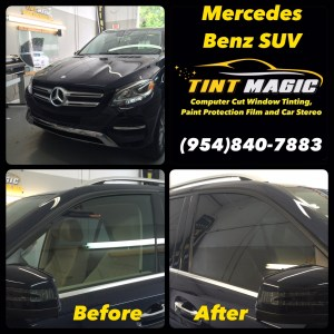 Mercedes Benz GLE 350 at Tint Magic Window Tint
