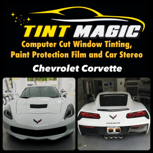 Chevrolet Corvette at Tint Magic Window Tint Coral Springs