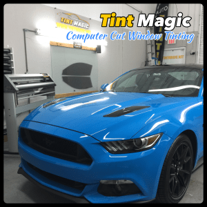 Ford Mustang at Tint Magic Computer Cut Window Tinting