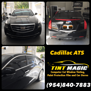 Cadillac ATS at Tint Magic Window  Tinting