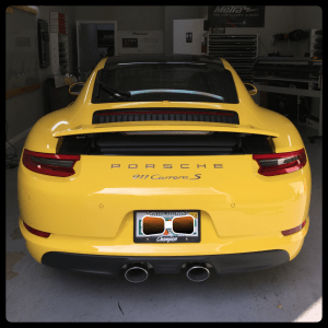 Porsche 911 Carrera S at Tint Magic Window Tinting Coral Springs