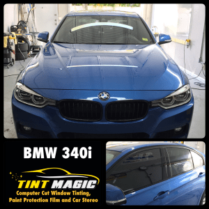 BMW 340I at Tint Magic Window Tinting Coral Springs