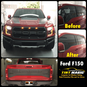 Ford F 150 at Tint Magic Window Tinting Coral Springs