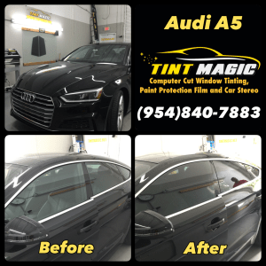 Audi A5 at Tint Magic Window Tint