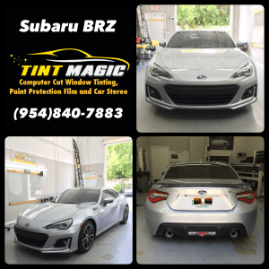 Subaru BRZ Window Tint at Tint Magic Coral Springs
