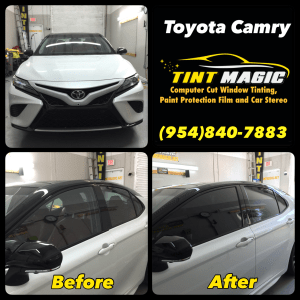 Toyota Camry at Tint Magic Window Tinting