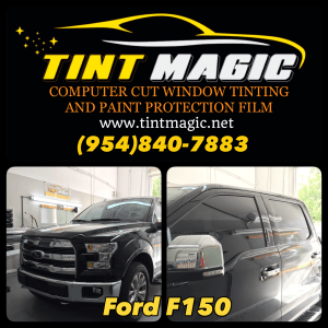Ford F150 Window Tinting at Tint Magic Window Tinting Coral Springs
