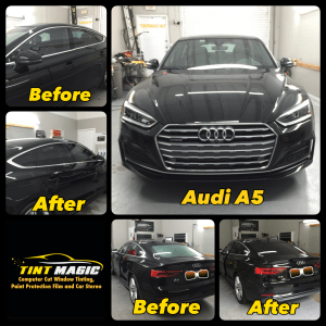 Audi A5 Window Tinting at Tint Magic Window Tinting Coral Springs