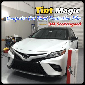 Toyota Camry PPF-Clear Bra at Tint Magic Window Tinting Coral Springs